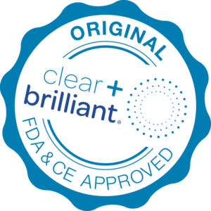 clear + brilliant